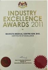 Certificate-of-Industry-Excellence-2011