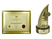 Excellence Export Certificate 2006 and Export Excellence Award-Services-2007