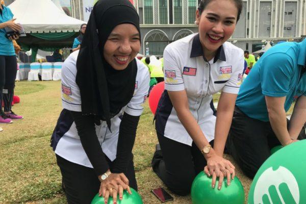 Nazida Zemma and Nurul Fatihah