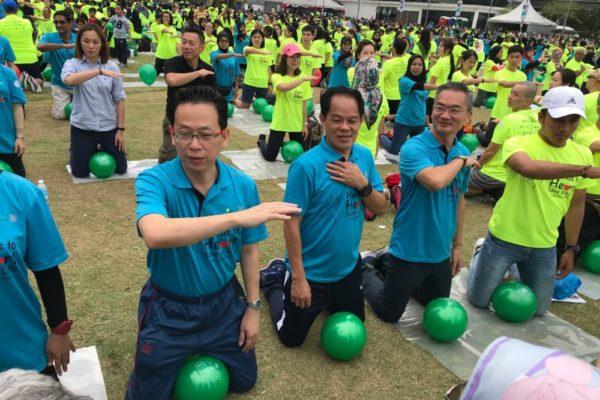 Stanley Lam, Datuk Gary Choo and YB Khoo