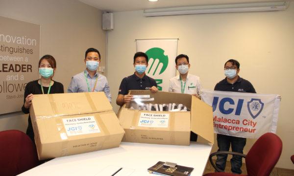 Junior Chamber International Malacca Works With Mahkota During Covid-19