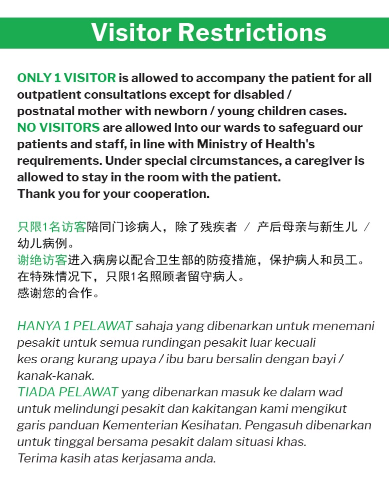 Mahkota Medical Centre Comprehensive Quality Medical Services