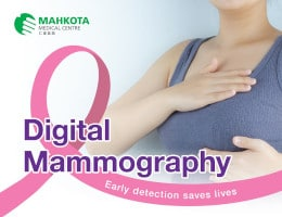 Digital Mammogram Launch Promotion Package